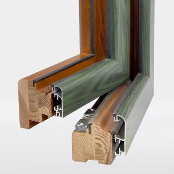 Morenica Legno-alluminio - Particolare aperto